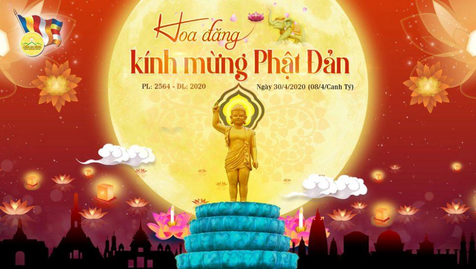 Đêm hoa đăng kính mừng Phật Đản