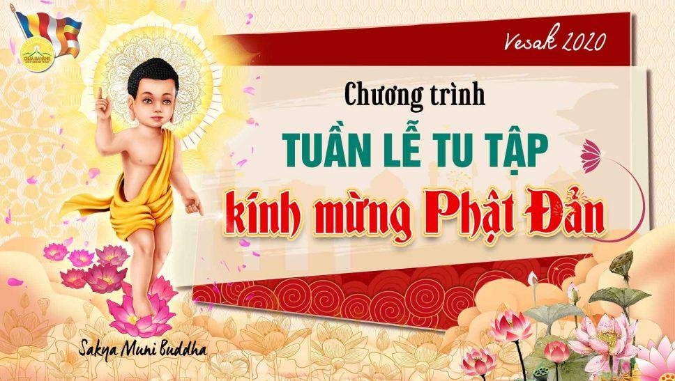 """Chương trình """"Tuần lễ tu tập Kính mừng Phật đản"""""""