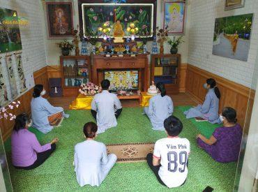 Mặc dù các Phật tử học Pháp tại nhà nhưng tâm luôn hướng về ngôi già lam Ba Vàng, tinh tấn tu hành để không phụ công ơn của Sư Phụ