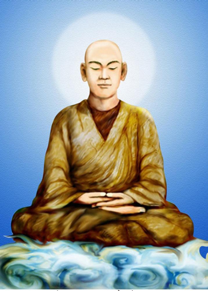 Phật hoàng Trần Nhân Tông - Sơ Tổ thiền phái Trúc Lâm Yên Tử (nguồn Internet)