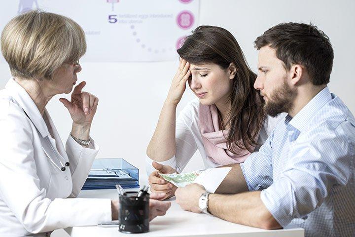Tình trạng vô sinh, hiếm muộn ở các cặp đôi cũng là một trong những hậu quả của việc sống thử trước hôn nhân (ảnh minh họa)