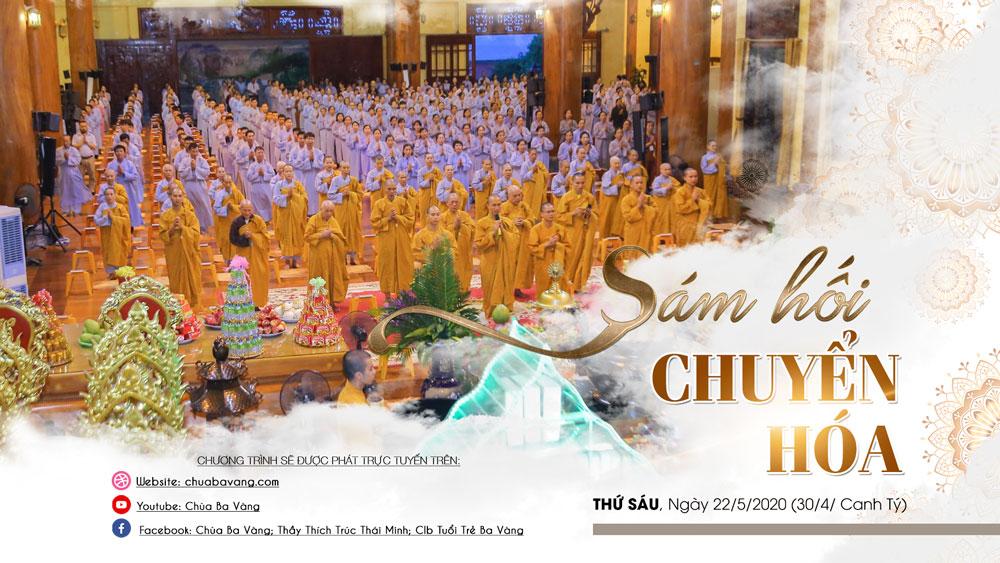 Thời khóa sám chuyển hóa chùa Ba Vàng