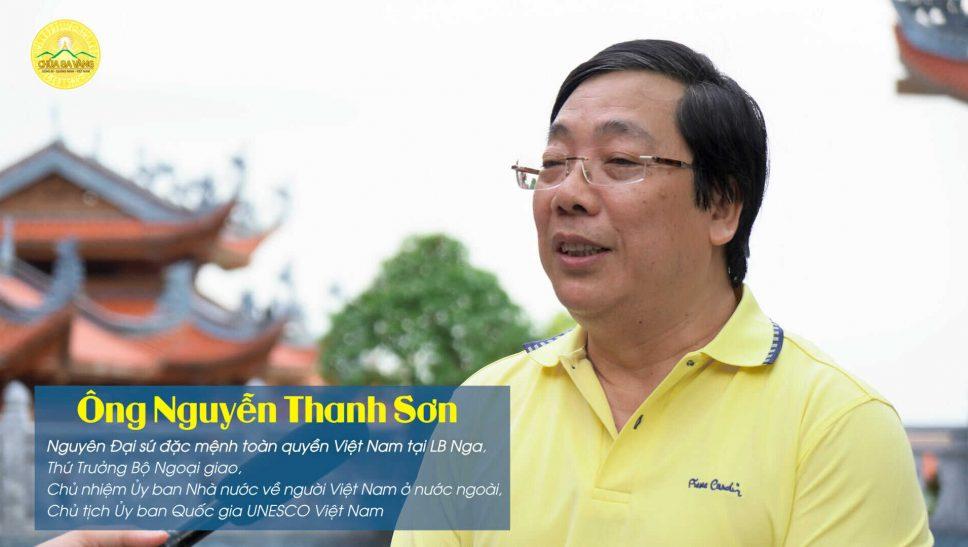 Chia sẻ sâu sắc của nguyên Đại sứ Nguyễn Thanh Sơn trong lần quay lại thăm chùa Ba Vàng
