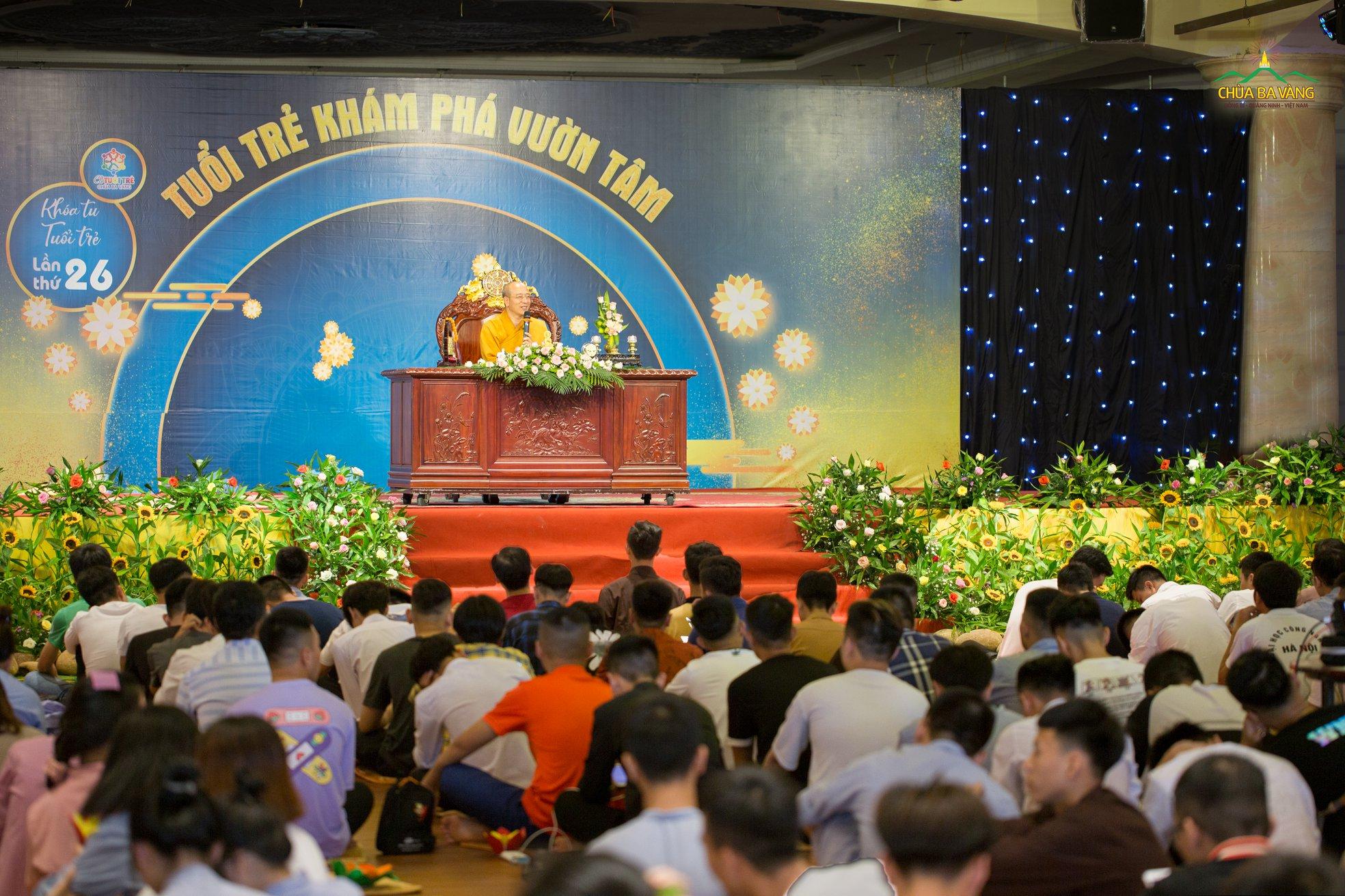 CLB Tuệ Tâm trở về Nhà tu học Phật Pháp và tiếp tục hành trình khám phá vườn tâm
