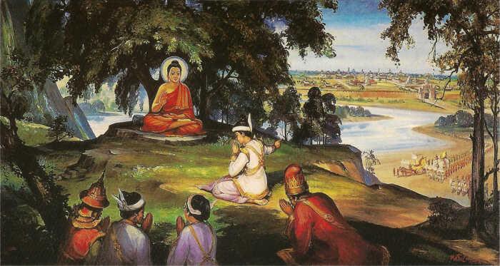 Đức Phật dạy vua A-xà-thế bảy pháp khiến đất nước không bị diệt vong
