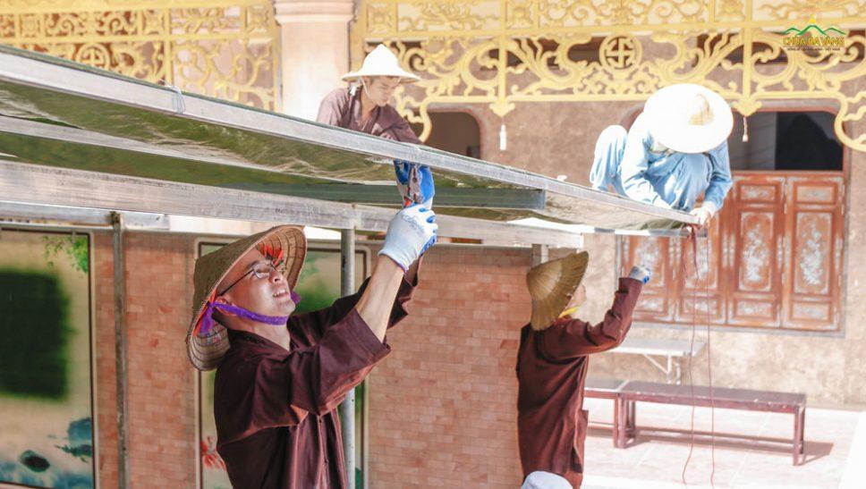 Công tác chuẩn bị Khóa Tu Mùa Hè chùa Ba Vàng lần 1 - năm 2020