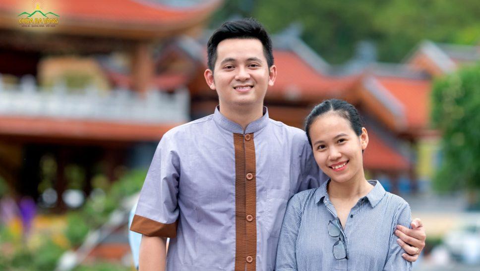 Nhờ tu tập Phật Pháp tại chùa Ba Vàng, vợ chồng anh Việt - chị Hạnh đã chuyển hóa nghiệp khó có con