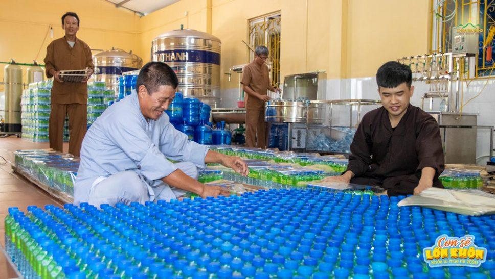 Công tác chuẩn bị Khóa tu mùa hè chùa Ba Vàng lần 1 năm 2020