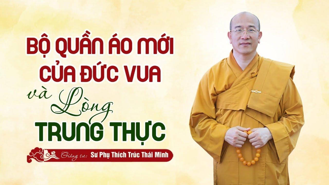 """🔴[TRỰC TIẾP] Pháp Thoại: """"Bộ quần áo mới của Đức Vua và lòng trung thực""""   Thầy Thích Trúc Thái Minh"""