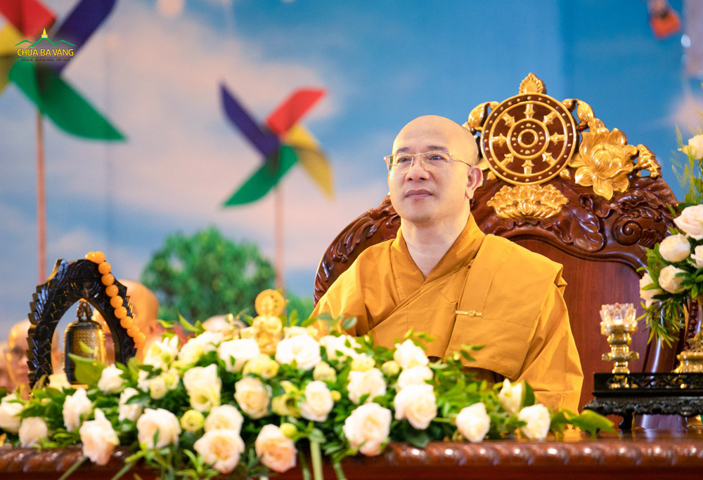 Sư Phụ Thích Trúc Thái Minh quang lâm chứng dự chương trình kính mừng Tự tứ - Kỷ niệm 21 năm Sư Phụ xuất gia