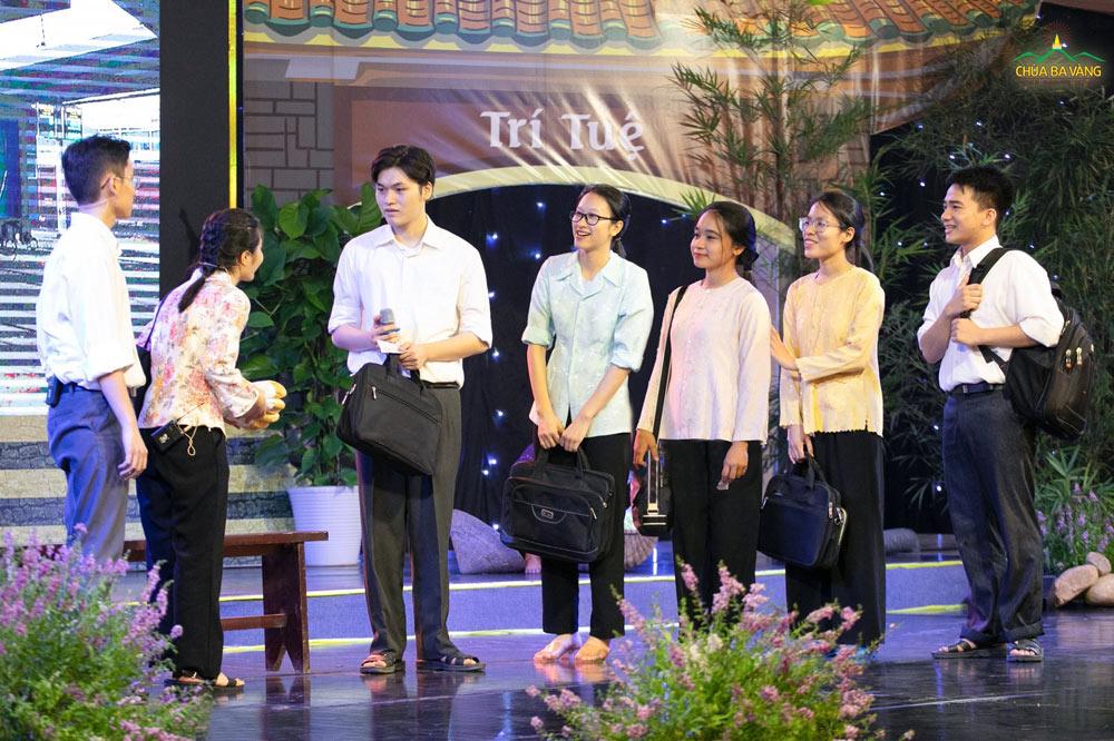 Vở kịch: Điều kỳ diệu sau chia ly của chương trình kính mừng Tự tứ - Kỷ niệm 21 năm Sư Phụ xuất gia