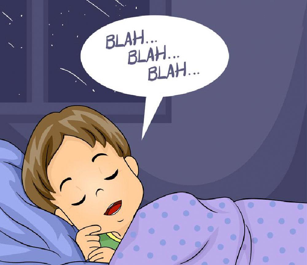 Hiện tượng nói mớ khi ngủ là do vùng ngôn ngữ ở vỏ não của người này không bị ức chế nên những gì xảy ra trong mơ thì họ nói ra miệng luôn