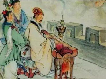 Gia Cát Lượng thư thái gảy đàn trước 15 vạn quân địch (ảnh minh họa)