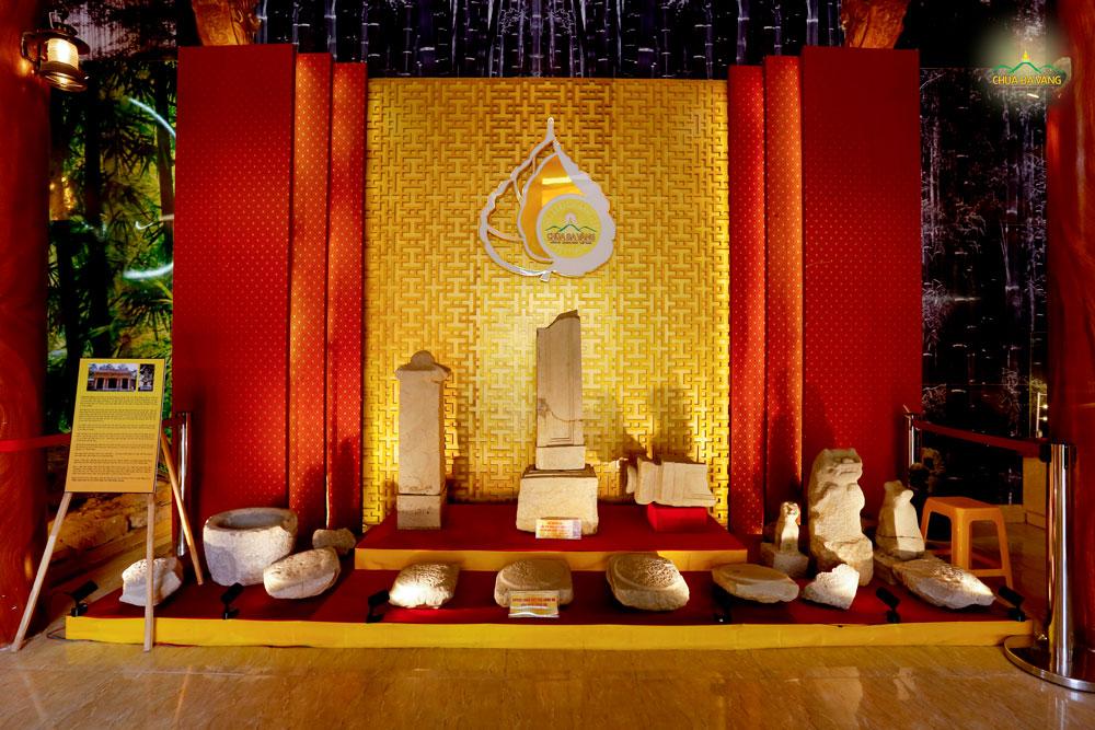 Bảo tàng chùa Ba Vàng - nơi lưu giữ những cổ vật mà Ngài Tổ Sư Ma Ha Sa Môn Tuệ Bích Phổ Giác để lại