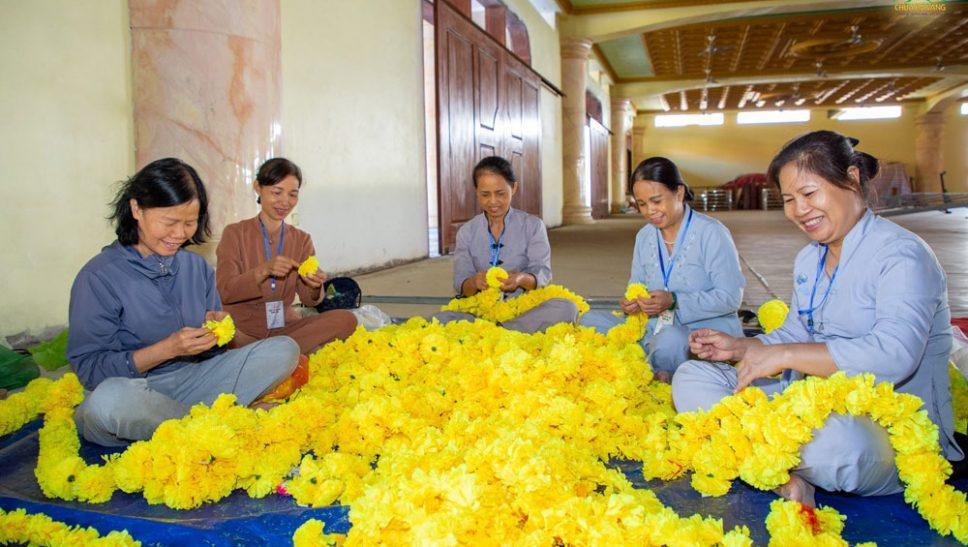 Công tác chuẩn bị lễ Giỗ Tổ Sư Trúc Lâm Ma Ha Sa Môn Tuệ Bích Phổ Giác
