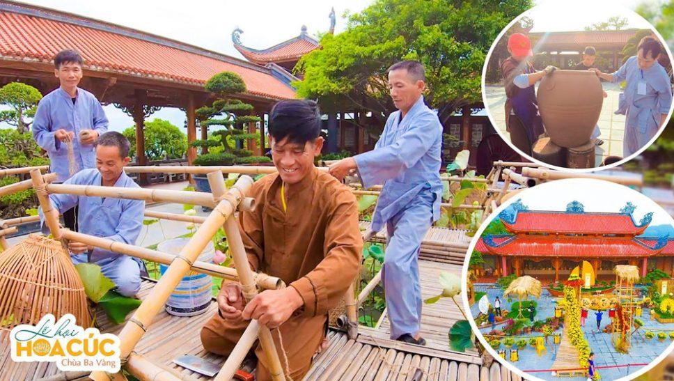 Công tác chuẩn bị lễ hội Hoa Cúc chùa Ba Vàng năm 2020 - Lễ hội quyên góp từ thiện (phần 1)