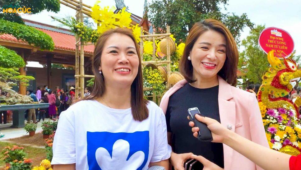 Du khách nói gì về không gian văn hóa truyền thống tại Lễ hội Hoa cúc chùa Ba Vàng 2020?