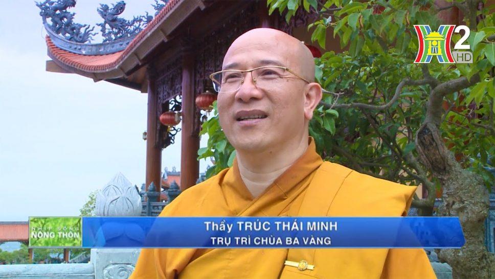 Đài phát thanh và truyền hình Hà Nội đưa tin về Lễ hội Hoa Cúc chùa Ba Vàng - Hướng về miền Trung