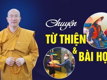 Chuyện từ thiện của ca sĩ, Phật tử Thủy Tiên và những bài học đằng sau