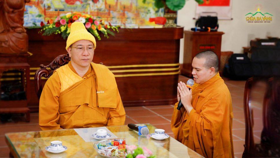 Đôi dòng cảm niệm về công đức tu hành của chư Tăng Ni chùa Ba Vàng - Sư Thầy Thích Nhuận Hòa