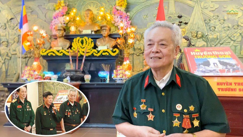 Cảm xúc khi về chùa Ba Vàng của cán bộ TTTC thăm chiến trường xưa quân TN Việt-Lào bộ đội Trường Sơn